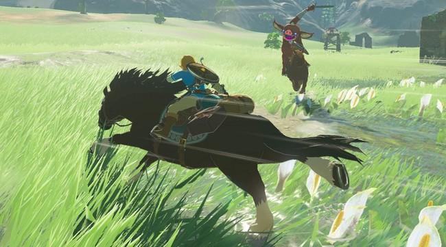 Zelda Breath Of The Wild Horse