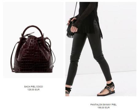 Zara subida precios