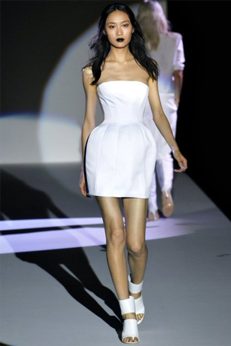 Little white dress Hakaan Primavera-Verano 2012