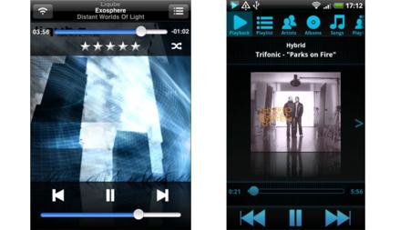 Las dos aplicaciones para Winamp.