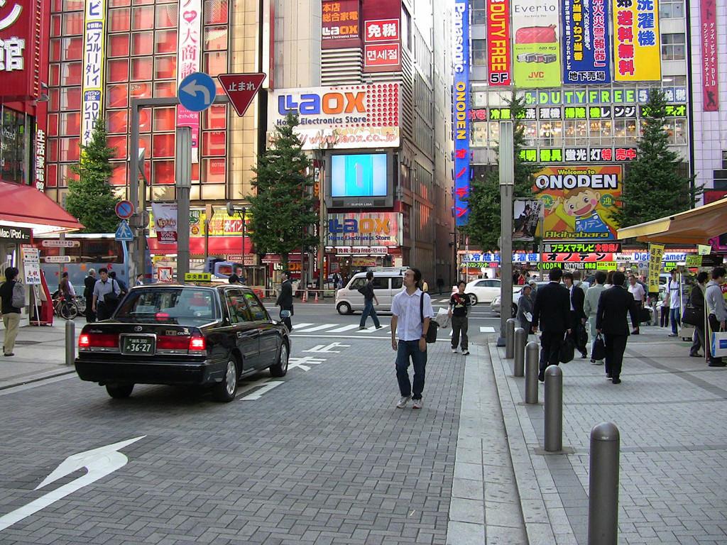 Tokyo coche diesel japón