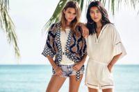 Liu Wen, Edita Vilkeviciute y Josephine Skriver, trío de tops en el nuevo catálogo verano 2015 de H&M