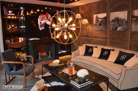 Ambiente sofisticado y muy masculino en Casa Decor con Jérôme Le Fouile y Cristina Remírez