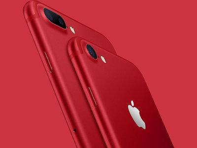 El nuevo iPhone 7 (PRODUCT)RED Special Edition se viste de rojo pasión, llega el próximo 24 de marzo