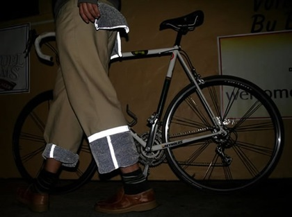 Pantalones reflectantes para ciclistas