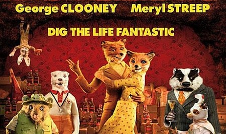 'Fantastic Mr. Fox', carteles