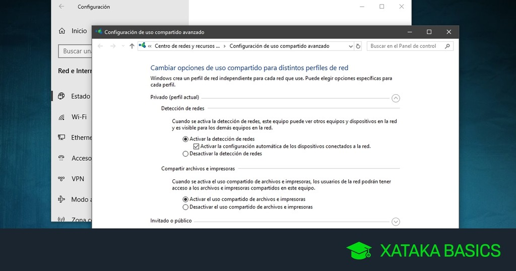 Cómo crear una red local en Windows 10 sin utilizar el Grupo de Hogar