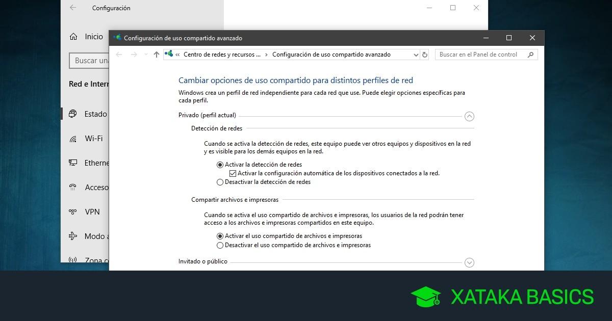 Cómo crear una red local en Windows 10 sin utilizar el Grupo de Hogar