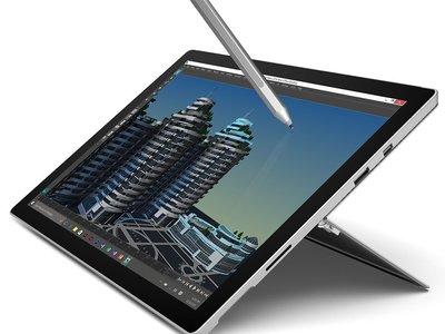 Surface Pro 4, con Core i7 y SSD de 256GB, con 326 euros de descuento