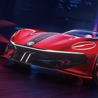 El MG Cybester concept es un descapotable eléctrico con 800 km de autonomía y un 0-100 km/h en menos de 3 segundos
