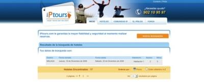 iPtours, buscador de viajes y vuelos con red social integrada