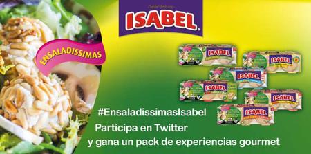 Tuitea tu ensalada de atún Isabel y gana un pack de experiencias gourmet con Isabel [finalizado]