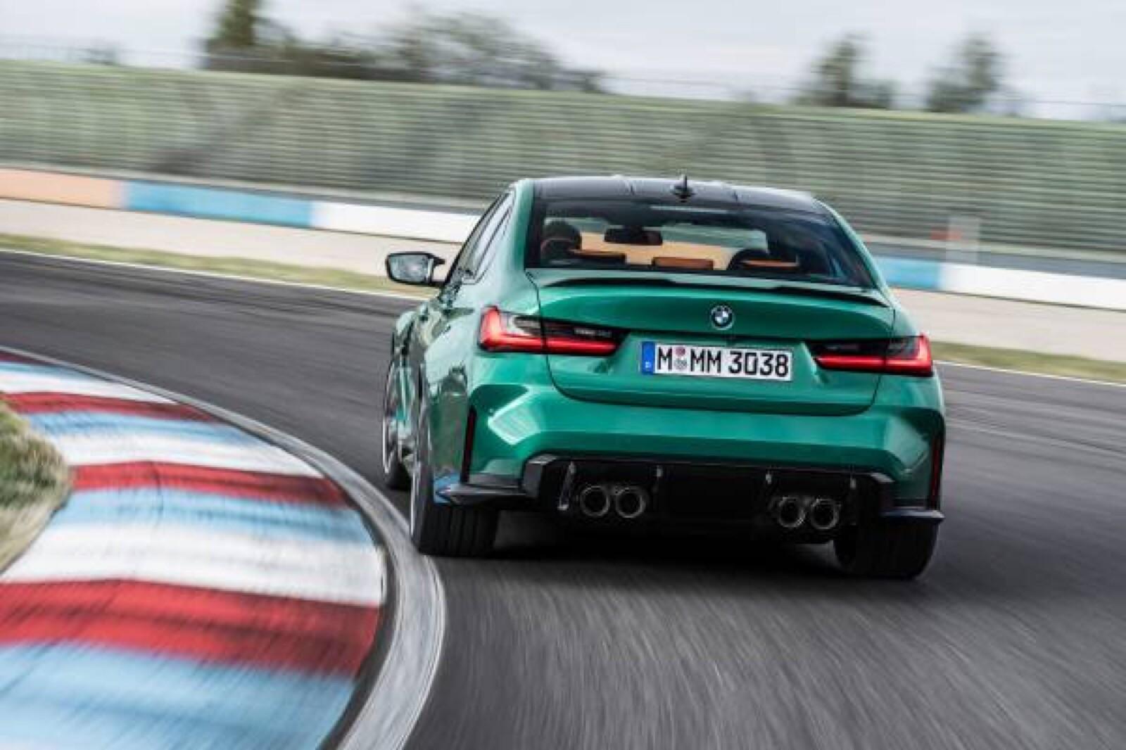 Foto de BMW M3 Competition 2021 (7/40)