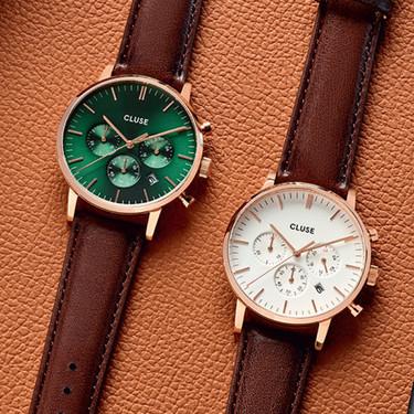 CLUSE apuesta por la elegancia en su primera colección masculina de relojes minimalistas