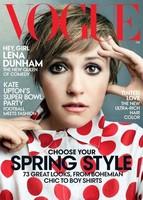 Lena Dunham: ¿Peor vestida en los Globos de Oro? Sí ¿Portada de Vogue? Pues también