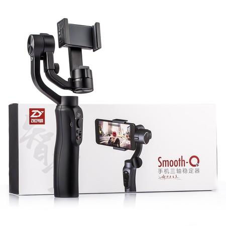Oferta Flash: estabilizador de 3 ejes Zhiyun Smooth Q por sólo 81,24 euros y envío gratis