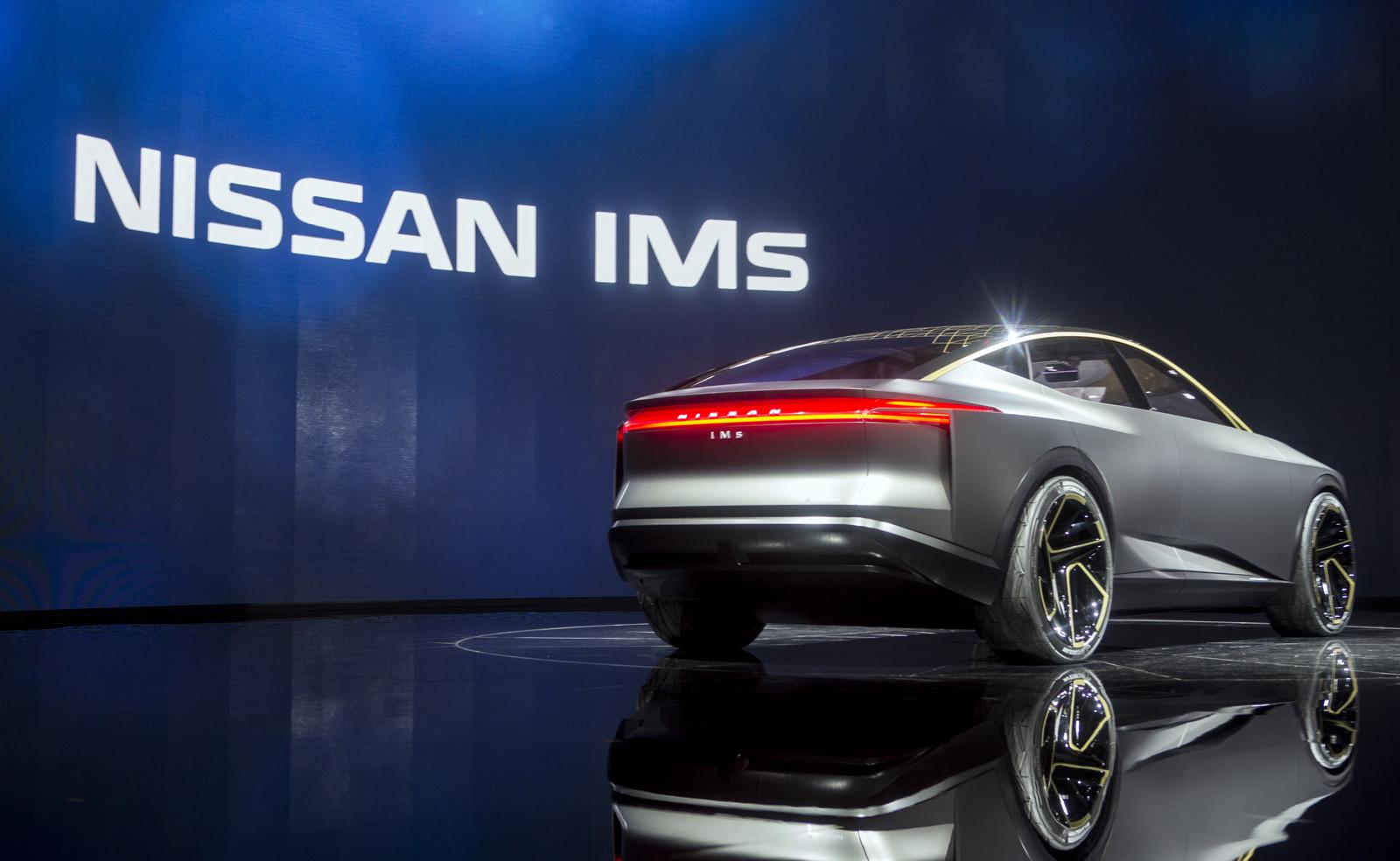 Foto de Nissan IMs EV Sports Sedan concept (28/31)