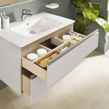 Siete muebles de lavabo con descuento para renovar el aspecto y la utilidad del baño