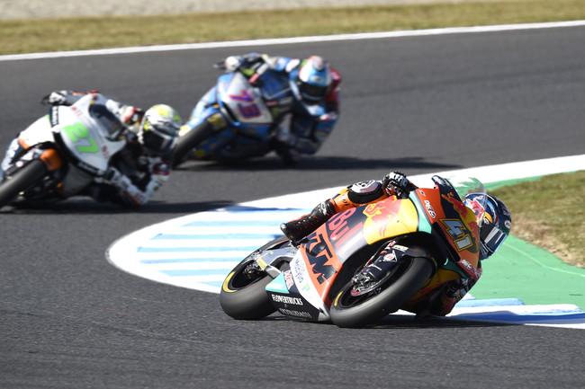 Brad Binder saca músculo en Australia para buscar su tercera victoria de Moto2
