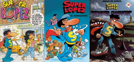 Portadas del cómic Superlópez