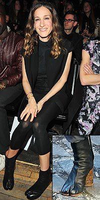 Las celebrities siguen apostando por los zapatos extravagantes