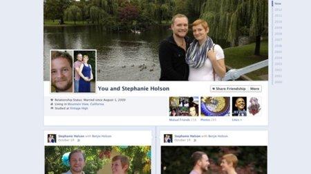 Facebook estrena un nuevo pero conocido diseño para las páginas de amistad: el del timeline