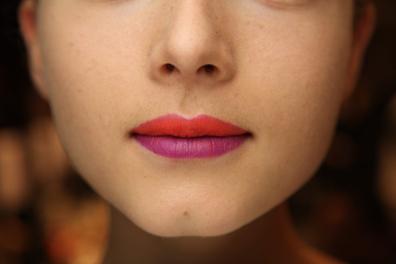 Encuesta: labios en dos colores, ¿te atreves?