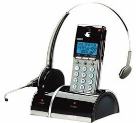 RCA 25110RE3, teléfono y auriculares inalámbricos de Thomson