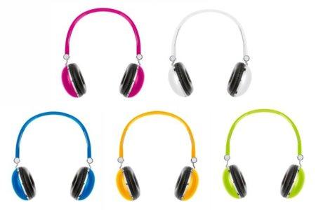 Auriculares Benetton, simples, coloridos y baratos