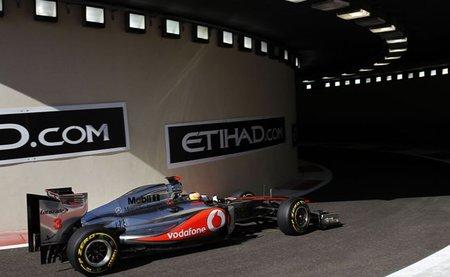 GP de Abu Dhabi F1 2011: Lewis Hamilton de nuevo el más rápido