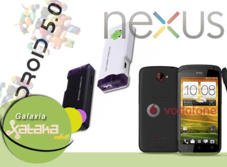Android a babor, Google Nexus a la vista. Galaxia Xataka Móvil