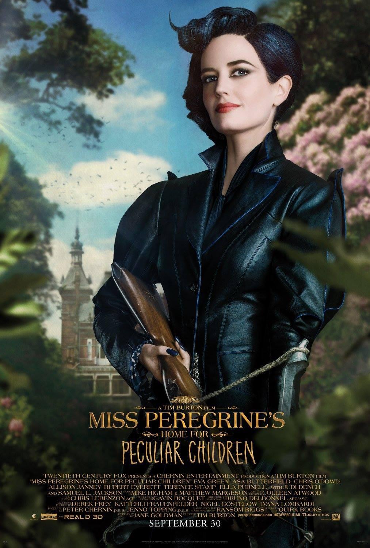 Foto de 'El hogar de Miss Peregrine', carteles de los protagonistas (1/9)