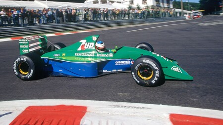 Schumacher Spa F1 1991