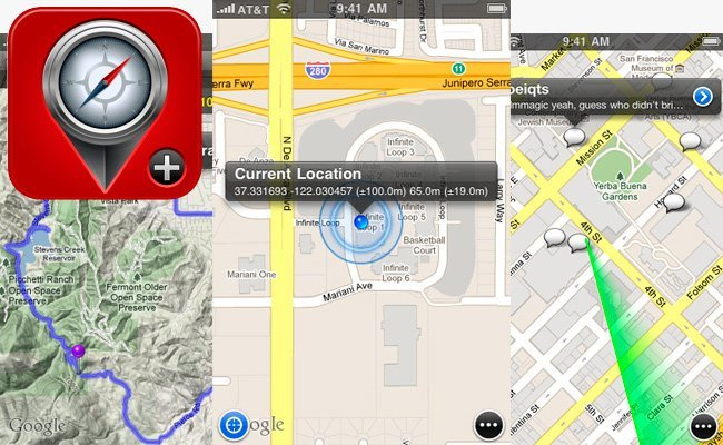Maps+ Google Maps