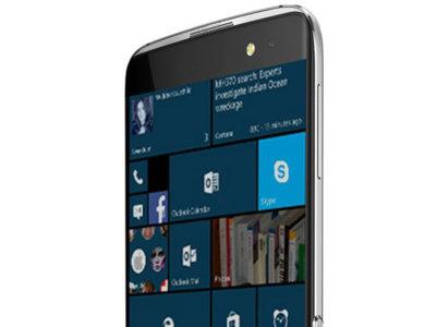 El Alcatel OneTouch Idol 4 Pro con Windows 10 Mobile se deja ver en una filtración