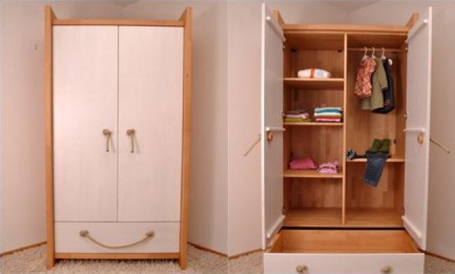 Armario para ropa pequeno for Armarios de habitacion