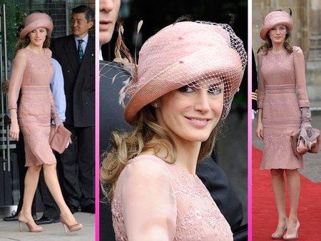 Letizia Ortiz: me conquistó de noche y me dejó fría de día en la boda de Guillermo y Kate Middleton