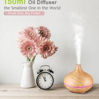 Oferta flash de Amazon: humidificador y difusor de aceites esenciales por 17,59 euros y envío gratis