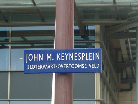 Calle de Keynes en Holanda