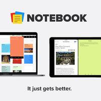 Notebook es un precioso gestor de notas totalmente gratuito y libre de publicidad