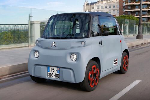 Probamos el Citroën Ami: un 'objeto de movilidad' eléctrico que la marca se niega a llamar coche y que supone un reto cuando llueve