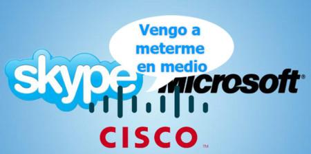 Cisco quiere poner condiciones a la compra de Skype por parte de Microsoft