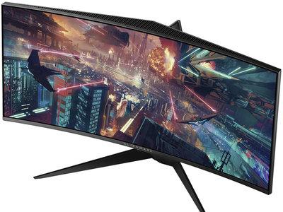 Alienware presenta un nuevo monitor gaming, el Alienware AW3418HW, un panel curvo con resolución WFHD