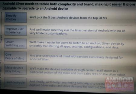 """Android Silver: Google puede estar pensando en una """"cobertura premium"""" para sus usuarios"""