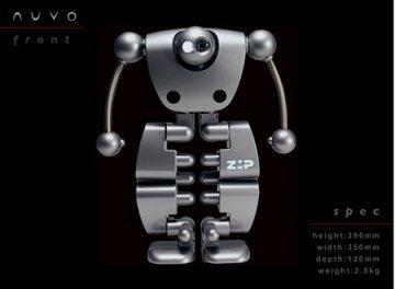 Nuvo: un humanoide para tu casa