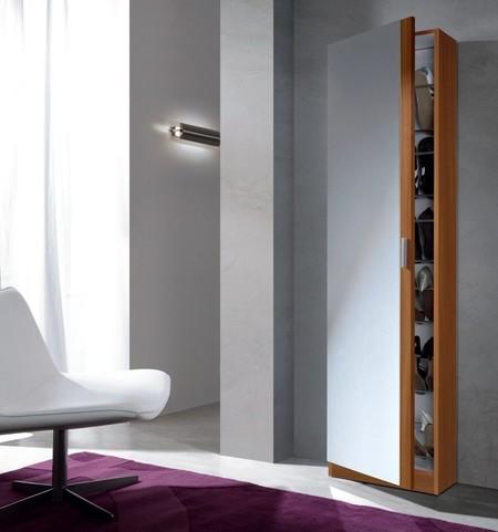 El armario zapatero con espejo Habitdesign 007866C está rebajado a 73,90 euros en Amazon