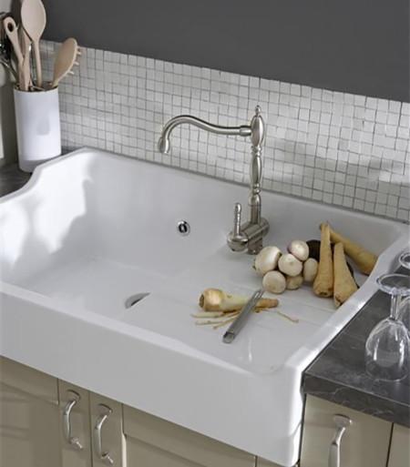 Plan cambiar el fregadero ejemplos funcionales y decorativos - Tipos de fregaderos ...