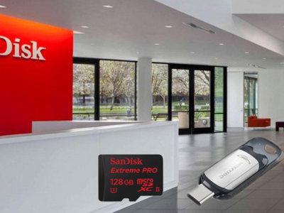 Sandisk presenta sus nuevas memorias USB Type-C y tarjetas microSD