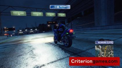 Motos en 'Burnout Paradise'