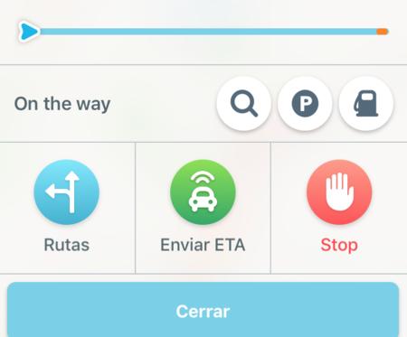 Waze Compartir Ruta